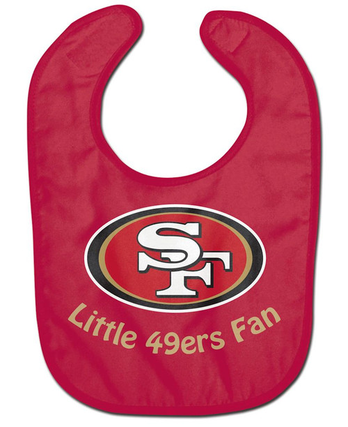 San Francisco 49ers All Pro Little Fan Baby Bib
