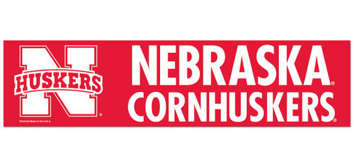 Nebraska Cornhuskers Bumper Sticker