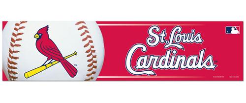 St. Louis Cardinals Bumper Sticker - Special Order