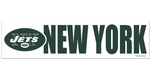 New York Jets Decal Bumper Sticker - Special Order