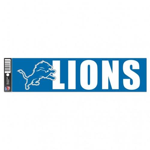 Detroit Lions Decal Bumper Sticker