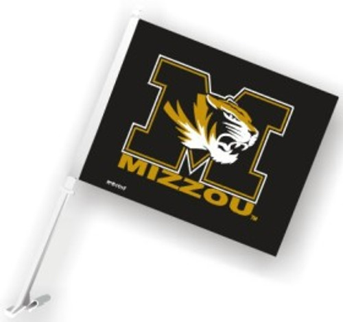 Missouri Tigers Car Flag