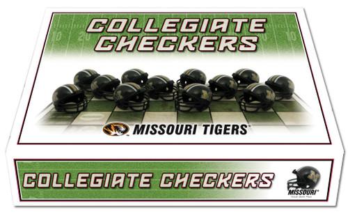 Missouri Tigers Checker Set CO
