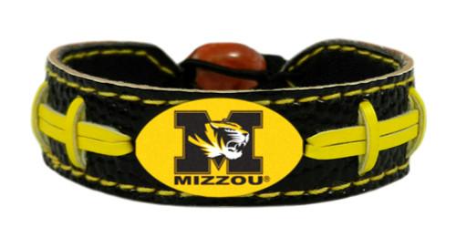Missouri Tigers Bracelet - Team Color Football