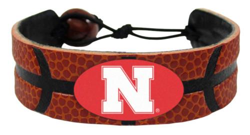 Nebraska Cornhuskers Bracelet - Classic Basketball