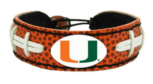 Miami Hurricanes Bracelet Classic Football CO