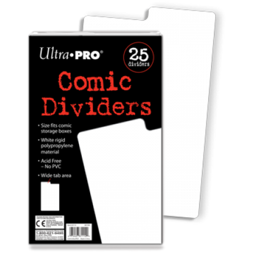Comic Storage Dividers (25 per pack)