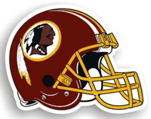 "Washington Redskins 12"" Helmet Car Magnet"