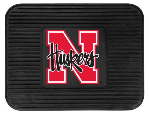 Nebraska Cornhuskers  Car Mat Heavy Duty Vinyl Rear Seat