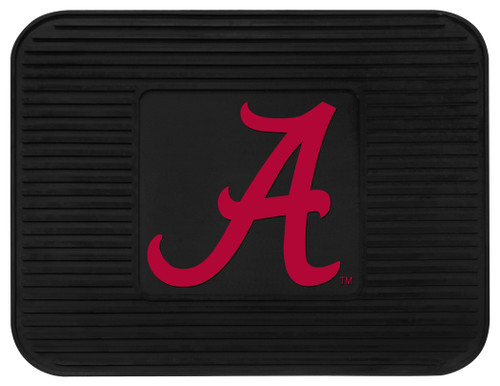 Alabama Crimson Tide Car Mat Heavy Duty Vinyl Rear Seat