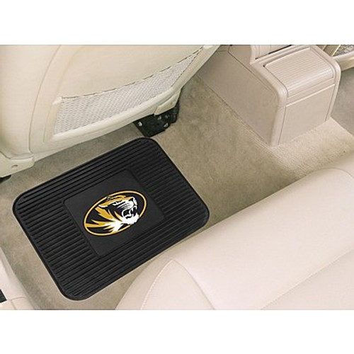 Missouri Tigers Car Mat Heavy Duty Vinyl Rear Seat - Special Order