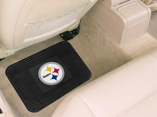 Pittsburgh Steelers Car Mat Heavy Duty Vinyl Rear Seat