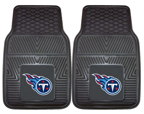 Tennessee Titans Car Mats Heavy Duty 2 Piece Vinyl