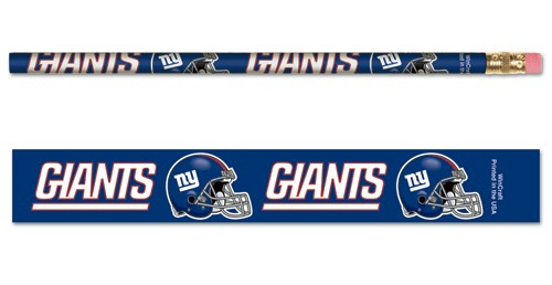 New York Giants Pencil 6 Pack
