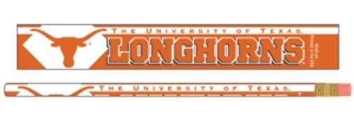 Texas Longhorns Pencil 6 Pack
