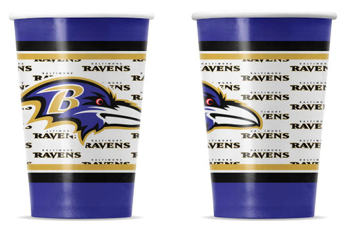 Baltimore Ravens Disposable Paper Cups