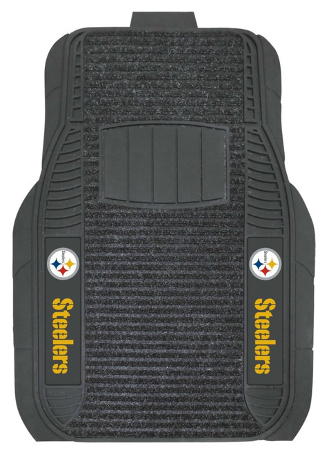 Pittsburgh Steelers Car Mats Deluxe Set