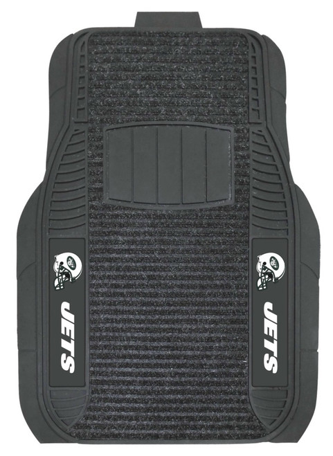 New York Jets Car Mats Deluxe Set