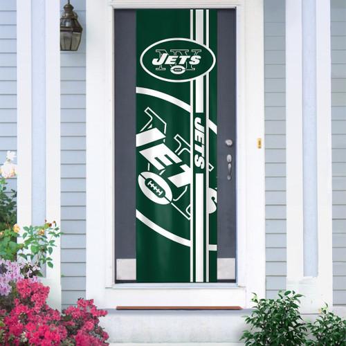 New York Jets Banner Door