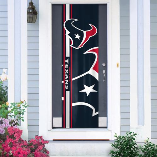 Houston Texans Banner Door