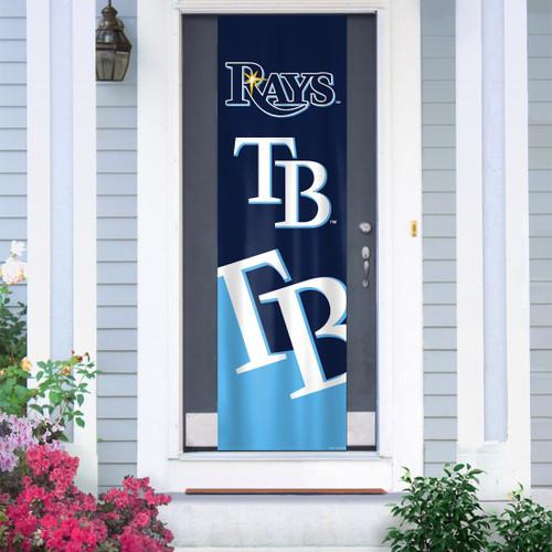Tampa Bay Rays Banner Door