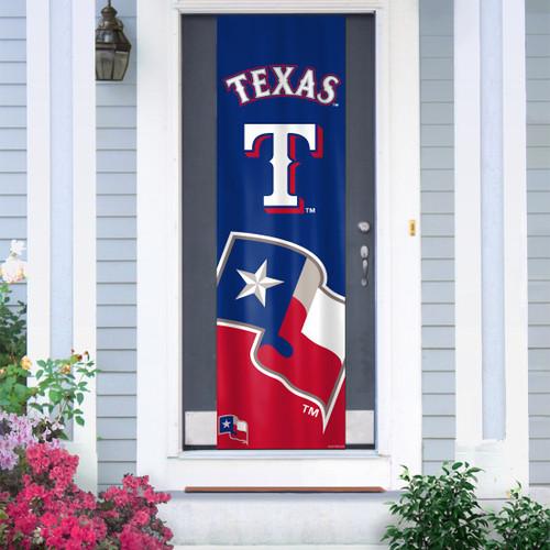Texas Rangers Banner Door