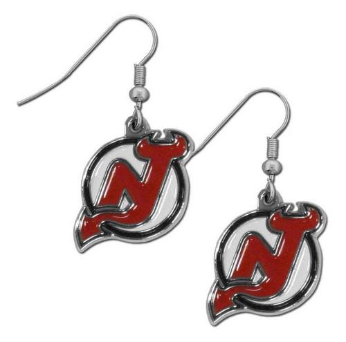 New Jersey Devils Dangle Earrings - Special Order