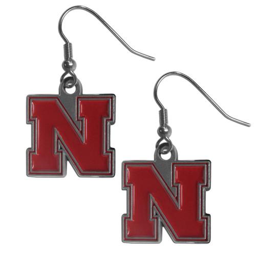 Nebraska Cornhuskers Dangle Earrings - Special Order