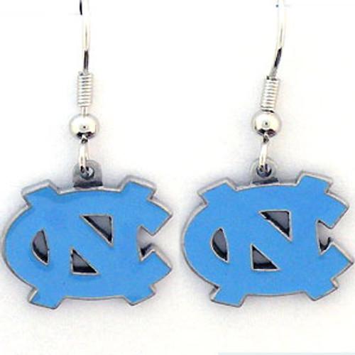 North Carolina Tar Heels Dangle Earrings - Special Order