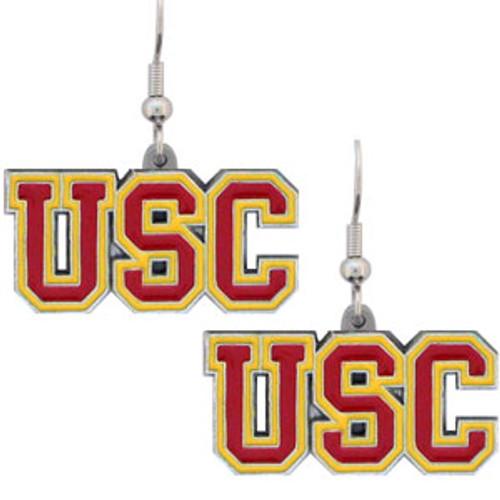 USC Trojans Dangle Earrings - Special Order