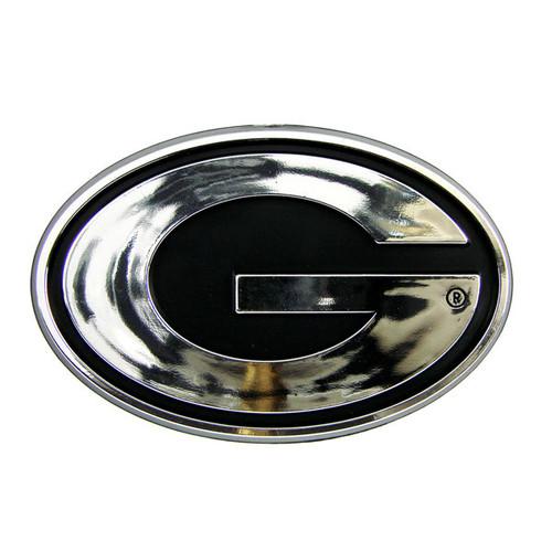 Georgia Bulldogs Auto Emblem - Silver