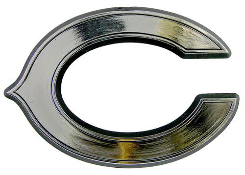 Chicago Bears Auto Emblem - Silver