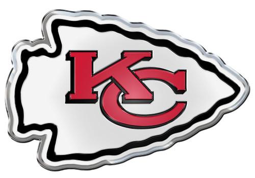 Kansas City Chiefs Auto Emblem - Color