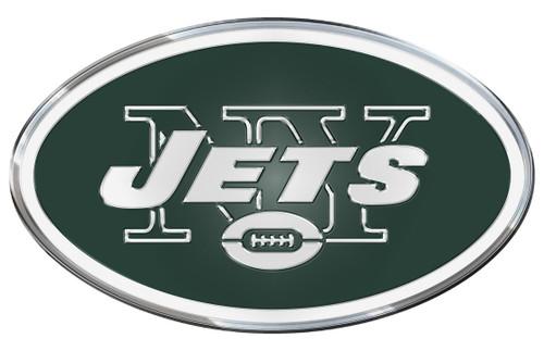 New York Jets Auto Emblem - Color