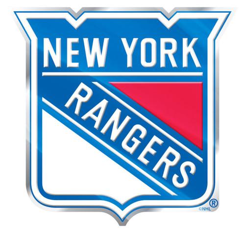 New York Rangers Auto Emblem - Color