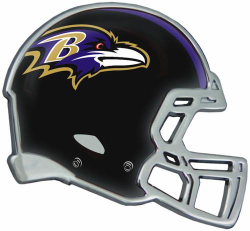 Baltimore Ravens Auto Emblem - Helmet