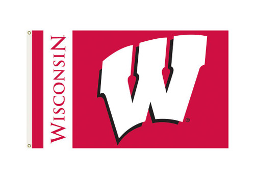 Wisconsin Badgers Flag 3x5