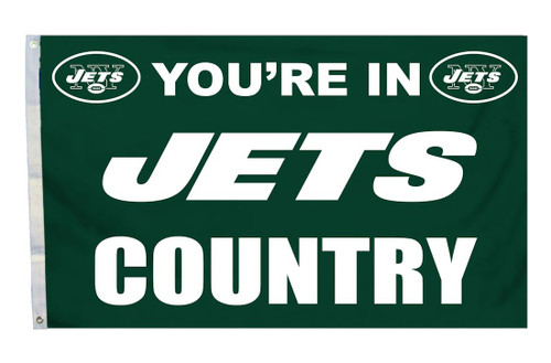 New York Jets Flag 3x5 Country - Special Order