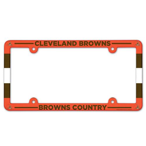 Cleveland Browns Full Color License Plate Frame
