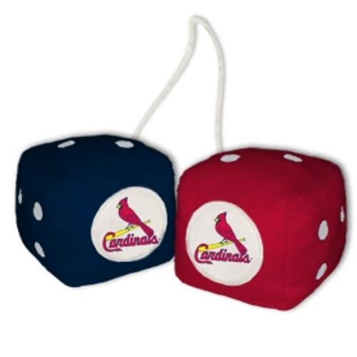 St. Louis Cardinals Fuzzy Dice CO