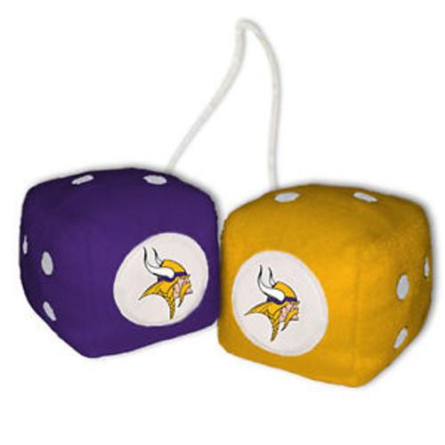 Minnesota Vikings Fuzzy Dice CO
