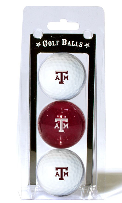 Texas A&M Aggies 3 Pack of Golf Balls - Special Order