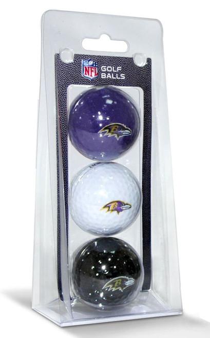 Baltimore Ravens 3 Pack of Golf Balls - Special Order