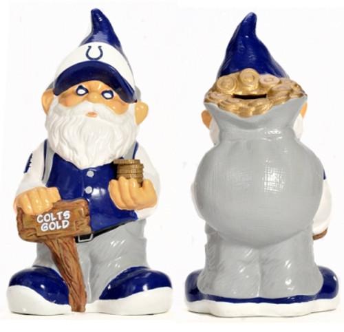 Indianapolis Colts Garden Gnome - Coin Bank CO