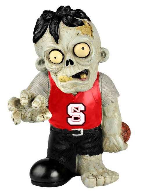 North Carolina State Wolfpack Zombie Figurine