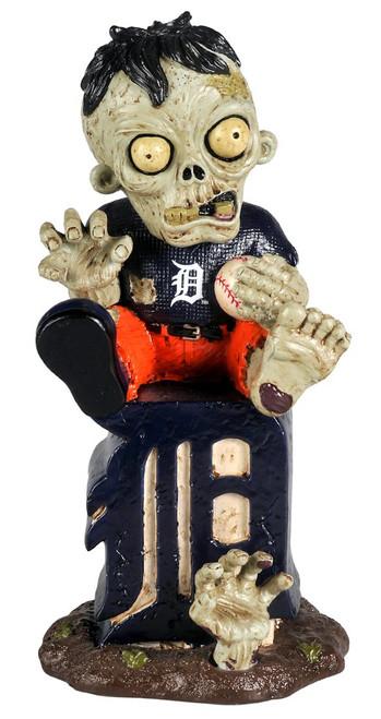 Detroit Tigers Zombie Figurine - On Logo CO