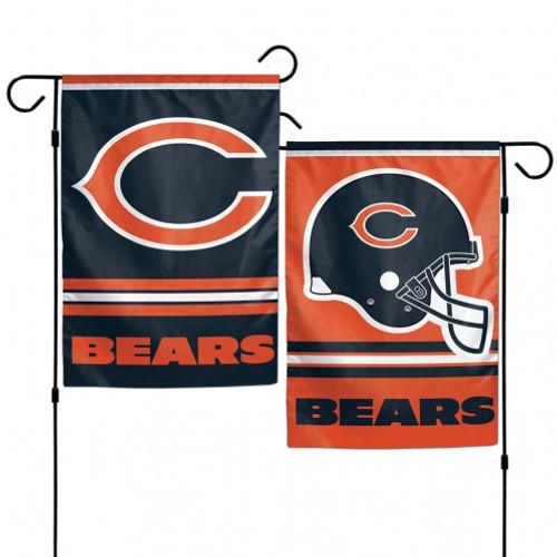 Chicago Bears Flag 12x18 Garden Style 2 Sided