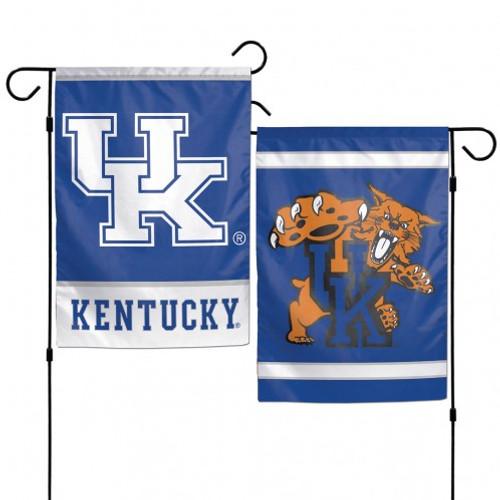 Kentucky Wildcats Flag 12x18 Garden Style 2 Sided
