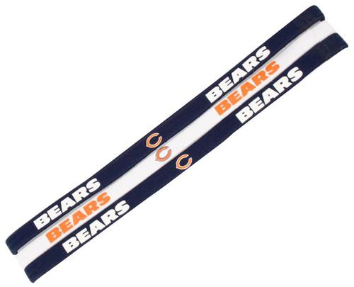 Chicago Bears Elastic Headbands - Special Order