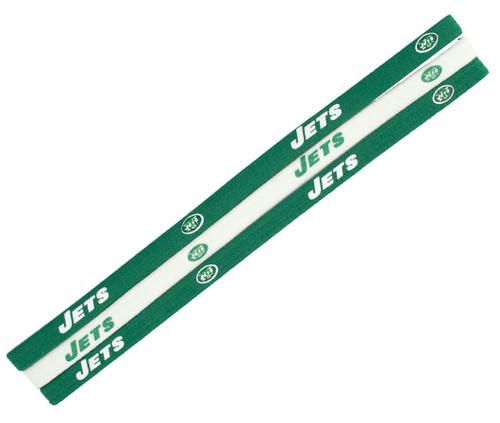 New York Jets Elastic Headbands - Special Order